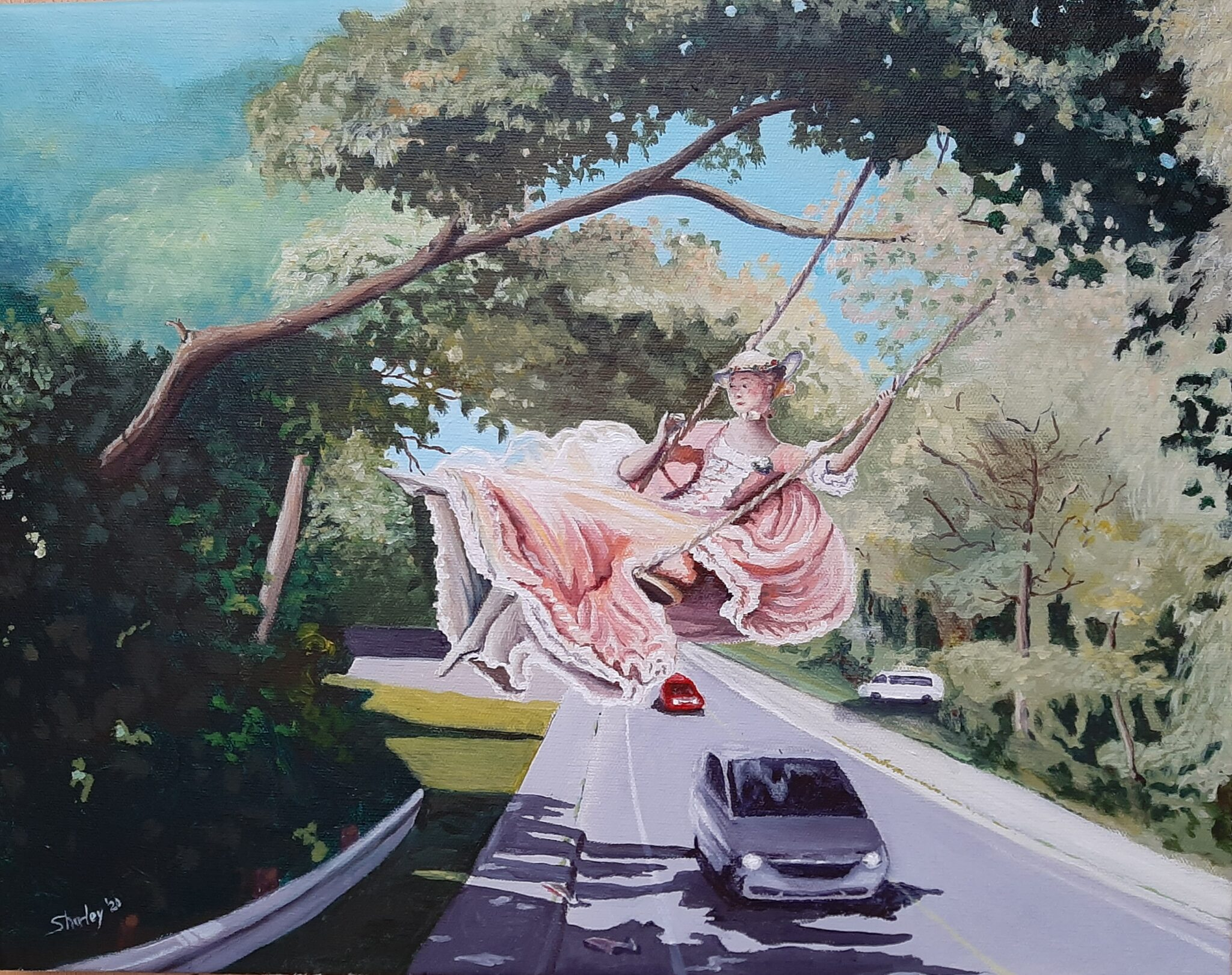 Swing Over Albion Road wink to Fragonard